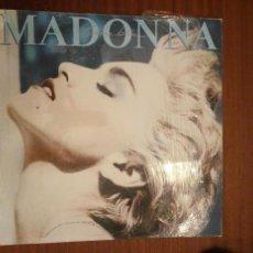 Discos de vinilo: MADONNA, TRUE BLUE. Lote 63388512