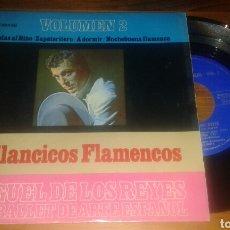 Discos de vinilo: MIGUEL DE LOS REYES Y SU BALLET DE ARTE ESPAÑOL : VILLANCICOS FLAMENCOS:COPLAS AL NIÑO+3 ( EP.RARO). Lote 63391068