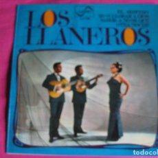 Dischi in vinile: LOS LLANEROS EP ZAFIRO 1968 PROMOCIONAL EL ARBITRO/ YO VI LLORAR A DIOS +2 RAFAEL IBARBIA. Lote 63391544