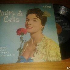 Discos de vinilo: LILIAN DE CELIS:EL RELICARIO+3 (EP.7