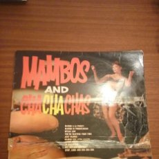 Discos de vinilo: MAMBOS AND CHACHACHAS, CARLO PERETTI AND HIS LATIN BEAT. Lote 63397844