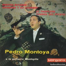 Discos de vinil: PEDRO MONTOYA CON EL LATIN COMBO / EL TROPEZON + 3 (EP 1963). Lote 63402752