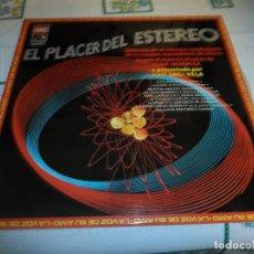 Discos de vinilo: EL PLACER DEL ESTEREO. Lote 63412568