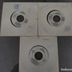 Discos de vinilo: ATAHUALPA 3 SINGLES EL DORADO/ AMULETOS (NIÑOS MALOS) /LUNA DE SANGRE PROMO. Lote 63418820
