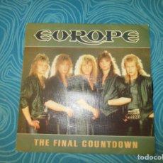 Discos de vinilo: EUROPE, THE FINAL COUNTDOWN, EPIC 1986 ( REF 1 ). Lote 63423508