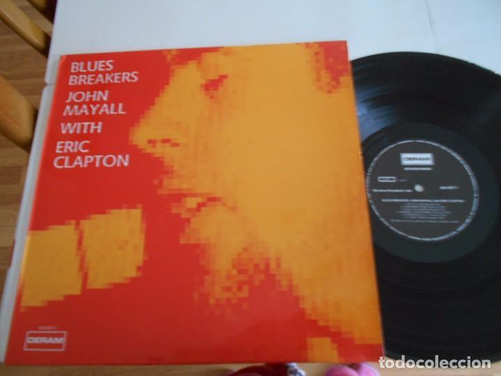 BLUES BREAKERS-JOHN MAYALL WITH ERIC CLAPTON-LP ESPAÑOL 1989-NUEVO (Música - Discos - LP Vinilo - Pop - Rock Extranjero de los 50 y 60)