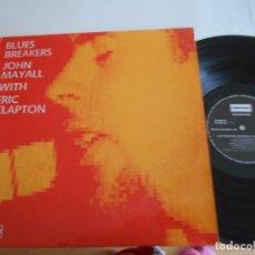 Discos de vinilo: BLUES BREAKERS-JOHN MAYALL WITH ERIC CLAPTON-LP ESPAÑOL 1989-NUEVO. Lote 63444240