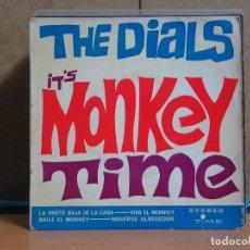 Discos de vinilo: THE DIALS - IT'S MONKEY TIME - TIME-VERGARA 127-SXC - 1964. Lote 63444560
