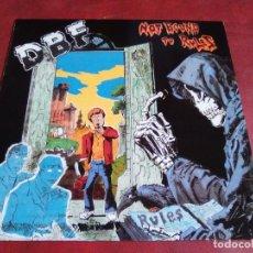 Discos de vinilo: D.B.F. NOT BOUND TO RULES HARDCORE PUNK. Lote 63449648