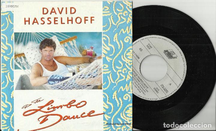 DAVID HASSELHOFF SINGLE DO THE LIMBO DANCE 1991 (Música - Discos - Singles Vinilo - Bandas Sonoras y Actores)