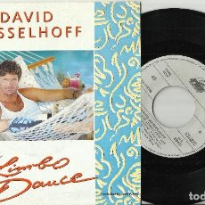 Discos de vinilo: DAVID HASSELHOFF SINGLE DO THE LIMBO DANCE 1991. Lote 63454320