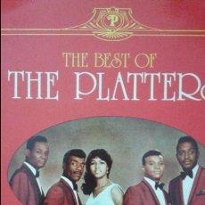 Discos de vinilo: THE PLATTERS-THE BEST OF -DOBLE LP. Lote 63456828