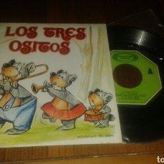 Discos de vinilo: LOS TRES OSITOS, TEATRO INFANTIL SAMANIEGO. (SG.1969.MOVIEPLAY). Lote 63461715