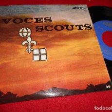 Discos de vinilo: VOCES SCOUTS ESCOLANIA SSMO.SACRAMENTO EP 1966 FONOPOLIS 6 CANCIONES CHOIR BOYS EX. Lote 186109096