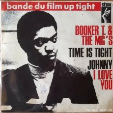 Discos de vinilo: BOOKER T. & THE MG'S : TIME IS TIGHT [FRA 1969] 7'. Lote 63481504