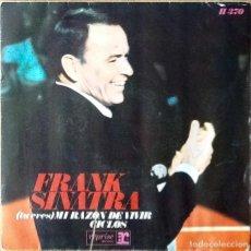 Discos de vinilo: FRANK SINATRA : (YOU ARE) MY WAY OF LIFE [ESP 1968] 7'. Lote 63483300