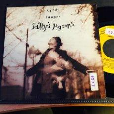 Discos de vinilo: CYNDI LAUPER (SALLY'S PIGEONS) SINGLE 1993 ESPAÑA PROMO (EPI3). Lote 211963493