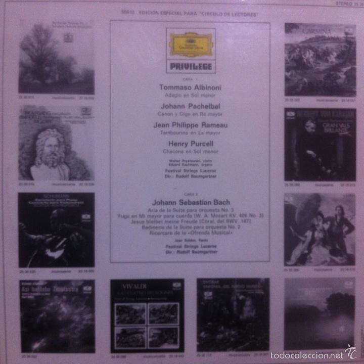 Discos de vinilo: Lote de 30 vinilos música clásica - Foto 37 - 63506610