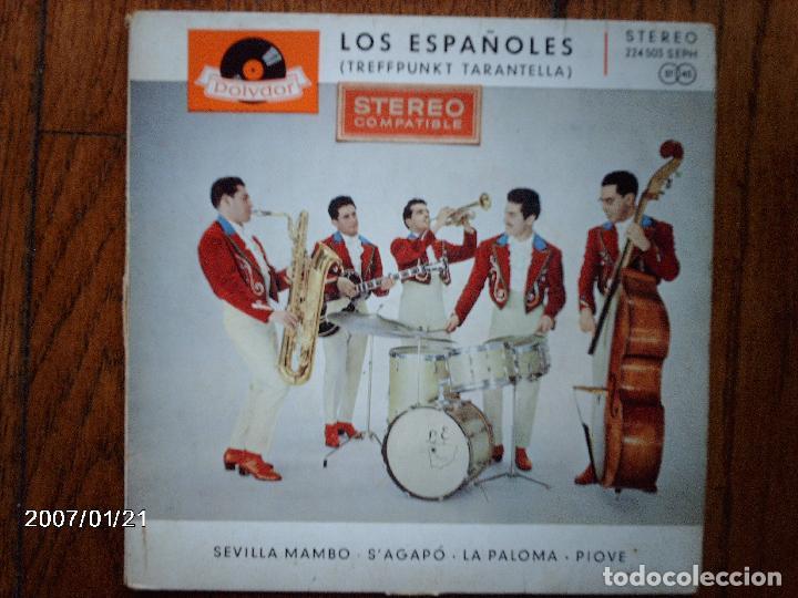 LOS ESPAÑOLES - SEVILLA MAMBO + 3 EDICIÓN ALEMANA (Música - Discos de Vinilo - EPs - Grupos Españoles 50 y 60)