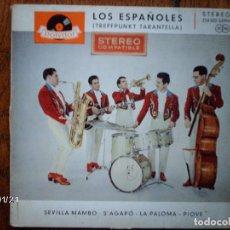Discos de vinilo: LOS ESPAÑOLES - SEVILLA MAMBO + 3 EDICIÓN ALEMANA. Lote 63519276