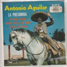 Dischi in vinile: ANTONIO AGUILAR / LA PRESUMIDA + 3 (EP PROMO 1970). Lote 63520612