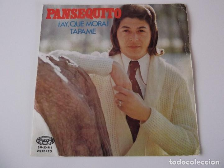 PANSEQUITO - ¡AY, QUE MORA! (Música - Discos - Singles Vinilo - Solistas Españoles de los 70 a la actualidad)