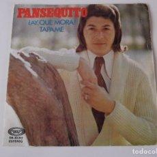 Discos de vinilo: PANSEQUITO - ¡AY, QUE MORA!. Lote 63548436