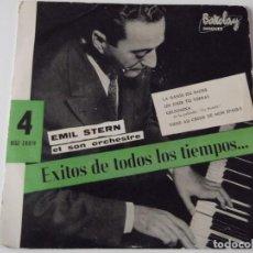 Discos de vinilo: EMIL STERN Y SU ORQUESTA - LA DANSE DU BAISER. Lote 63549292