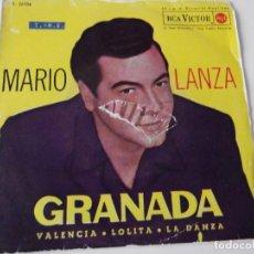 Discos de vinilo: MARIO LANZA - GRANADA. Lote 63549692
