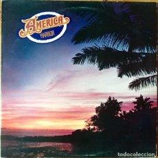 Discos de vinilo: AMERICA : HARBOR [UK 1977] LP. Lote 63566372