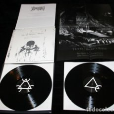 Discos de vinilo: NECROS CHRISTOS ‎– TRIVNE IMPVRITY RITES OR THE ..DOBLE LP DEATH METAL BLACK METAL. Lote 63566748