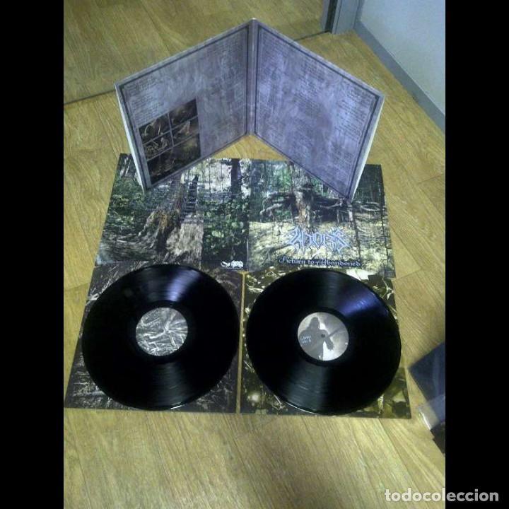 KHORS - RETURN TO ABANDONED-BLACK METAL DEATH METAL (Música - Discos - LP Vinilo - Heavy - Metal)