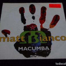 Discos de vinilo: MATT BIANCO ( MACUMBA - WAP BAM BOOGIE ) UK 1991-GERMANY SINGLE45 EASTWEST. Lote 63572616