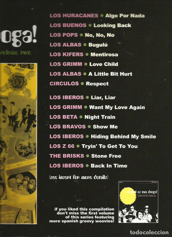 Discos de vinilo: LP EL SOUL ES UNA DROGA 2 ( IBEROS, POPS, BRAVOS, CIRCULOS, BETA, HURACANES, GRIMM, Z66, BUENOS, ETC - Foto 2 - 63590492