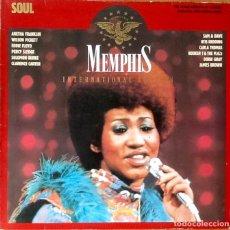 Discos de vinilo: V / A : MEMPHIS INTERNATIONAL EDITION SOUL [DEU 1985] RED VINYL. Lote 63592520
