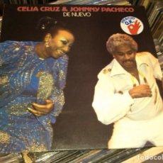 Discos de vinilo: CELIA CRUZ & JOHNNY PACHECO - DE NUEVO (LP) . Lote 63594704