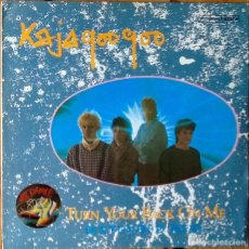 Discos de vinilo: KAJAGOOGOO : TURN YOUR BACK ON ME [ESP 1984]. Lote 63594840