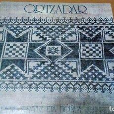 Discos de vinilo: ORTZADAR EKIALDETIK KANTUZ ETA DOIÑUZ LP 1976 ARTEGI CARPETA DOBLE. Lote 63598604