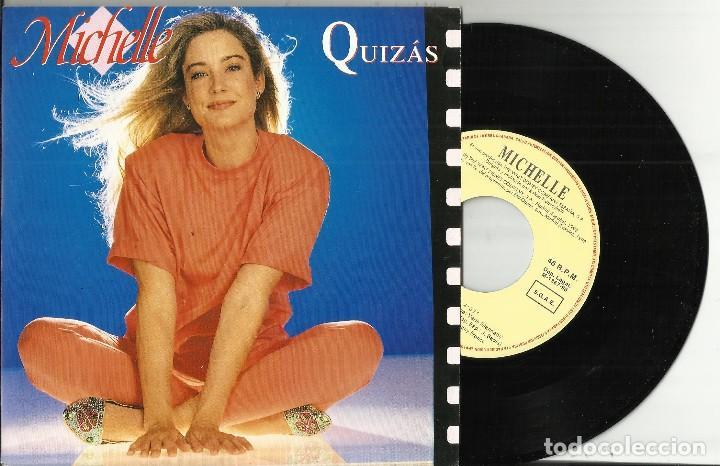 MICHELLE SINGLE QUIZAS.ESPAÑA 1993.WALT DISNEY (Música - Discos - Singles Vinilo - Música Infantil)