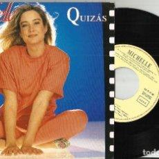 Discos de vinilo: MICHELLE SINGLE QUIZAS.ESPAÑA 1993.WALT DISNEY. Lote 63599764