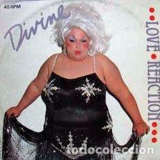 Discos de vinilo: DIVINE - LOVE REACTION. Lote 63603804