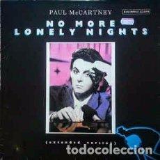 Discos de vinilo: PAUL MCCARTNEY - NO MORE LONELY NIGHTS. Lote 63603988
