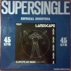 Discos de vinilo: LANDSCAPE, EUROPEAN MAN, RCA-PC-5233. Lote 63614559