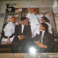 Discos de vinilo: 5 STAR - LUXURY OF LIFE LP - ORIGINALALEMAN - RCA RECORDS 1985 CON FUNDA INT. ORIGINAL -. Lote 63624491