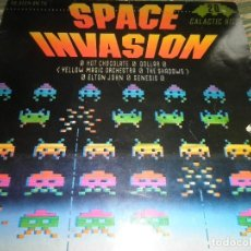 Discos de vinilo: SPACE INVASION GALACTIC HITS LP - VARIOUS ARTISTS - ORIGINAL FRANCES - RONCO RECORDS 1980 -. Lote 63630031