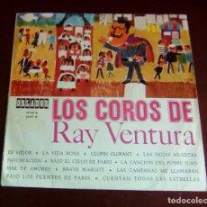 Discos de vinilo: LOS COROS DE RAY VENTURA - LP - 1966 - 10 PULGADAS. Lote 63632135