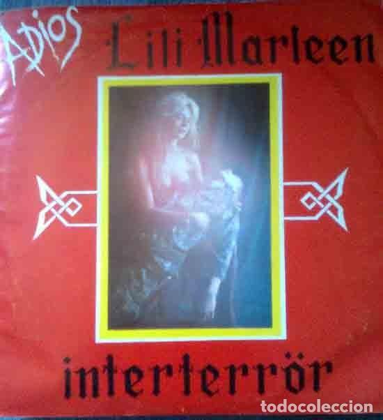 INTERTERROR: ADIOS LILI MARLEEN + FELICES DIAS EN AUSCHWITZ, ORIGINAL1983 (Música - Discos - Singles Vinilo - Punk - Hard Core)