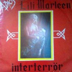 Discos de vinilo: INTERTERROR: ADIOS LILI MARLEEN + FELICES DIAS EN AUSCHWITZ, ORIGINAL1983. Lote 63640675