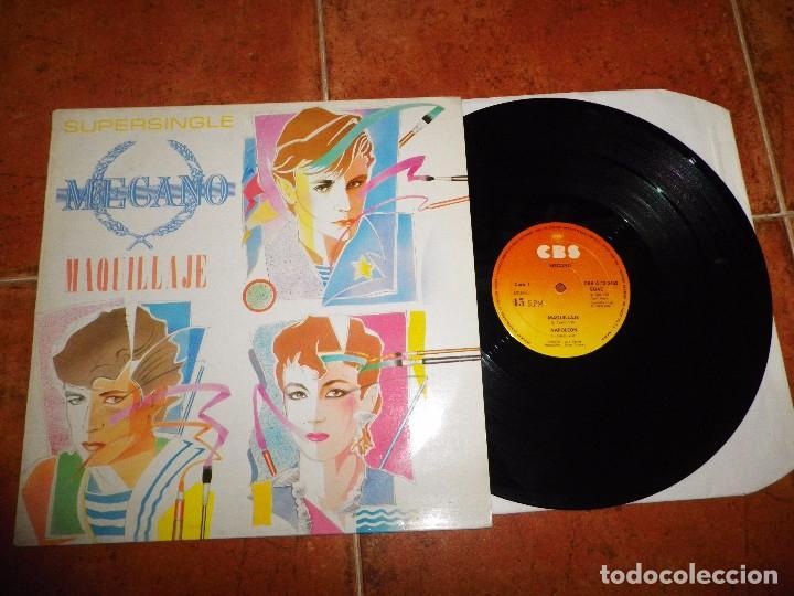 MECANO MAQUILLAJE / NAPOLEON / SUPER-RATON MAXI SINGLE VINILO 1982 3 TEMAS NACHO CANO ANA TORROJA (Música - Discos de Vinilo - Maxi Singles - Grupos Españoles de los 70 y 80)