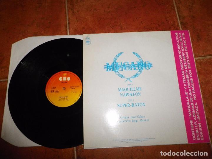 Discos de vinilo: MECANO Maquillaje / Napoleon / Super-raton MAXI SINGLE VINILO 1982 3 TEMAS NACHO CANO ANA TORROJA - Foto 2 - 63659435